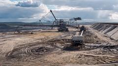 Bucket-wheel excavator (RIch-ART In PIXELS) Tags: bucketwheelexcavator nordrheinwestfalen inden weisweiler deutschland leicadlux6 leica dlux6 sand braunkohl machine industrialcomplex industry germany