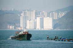 Fishermen (Nuuttipukki) Tags: fishermen fishing lamma island hongkong kong hong hk water ocean maritime nostalgia travel asia blue