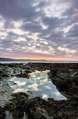 Hannafore Rock Pool Cloud Textures (Julian Barker) Tags: looe hannafore cornwall cornish coast sea rocks rock pool reflections clouds dawn sunrise kernow uk england composition julian barker dslr 600 canon