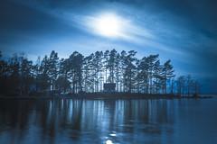 Blue sunset (Jyrki Salmi) Tags: jyrki salmi niinilahti mussalo kotka finland blue sunset reflections
