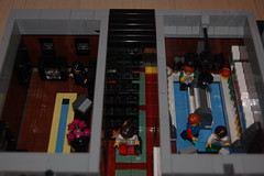 Jewelry and food store back (sander_koenen92) Tags: lego modular house doctor dalek weeping angel jewelry food store