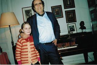 Michel Sogny et son élève Alexandra Maasalieva Paris 2001