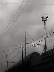 B&N (lucianoserra490) Tags: stazioneferroviaria biancoenero