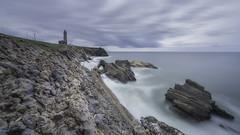 The bodyguard (João Cruz Santos) Tags: landscape seascape waterscape longexposure sigma1224 a7 fotodiox wonderpana nd1000 portugal saopedrodemoel lighthouse