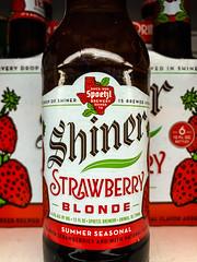 Shiner Strawberry Blonde Ale Spoetzl Brewery - Shiner Texas (mbell1975) Tags: centreville virginia unitedstates us spoetzl brewing shiner strawberry blonde ale tx beer bier pivo øl cerveza birra cerveja piwo bira bière biere american