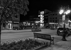 Empty Street (cjh44) Tags: ontario blackwhite photoshoot kingston henrys princessstreet