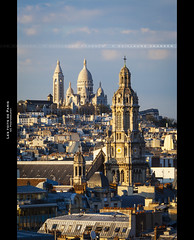 Les toits de Paris (Guillaume Chanson) Tags: roof sky cloud paris france church canon ledefrance montmartre sacrcoeur ciel nuage toit eglise trinit basilique coline canoneos5dmarkii