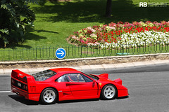 F40 (Raphal Belly) Tags: red paris car de french rouge photography eos hotel riviera photographie ferrari casino montecarlo monaco mc belly exotic f 7d passion 40 raphael rosso rb supercar spotting supercars f40 raphal principality quarante