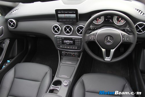 mercedes-benz launches a-class hatchback in india