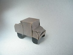Simple pick up truck - Jos Herrera (Rui.Roda) Tags: up truck origami pick simple jos papiroflexia herrera