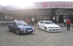street cinema skyline nissan racing turbo subaru volks r33 cgr gtr worldcars 280cv