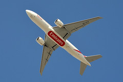 Emirates SkyCargo A6-EFD (Howard_Pulling) Tags: camera hotel photo nikon dubai aircraft uae picture arabia sheraton airlines deira 2013 d5100 sheratonderia
