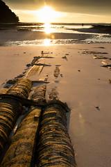Adaman Sunset (Mario Revuelta) Tags: ocean sunset lana beach eos bay mar phi phiphi playa 400 don puestadesol loh tahiland tahilandia adamansea mardeadaman