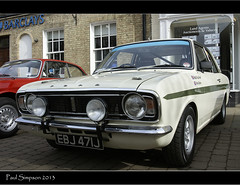 Ford Cortina in Brigg (Paul Simpson Photography) Tags: white classic ford cortina car spring lotus wheels transport may lincolnshire tires tyres motorcar fordcortina brigg photosof imageof sonya100 photoof imagesof paulsimpsonphotography tswborderclassiccarrally2013