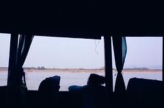 Mekong. (RebeccaJodie) Tags: 35mm boat laos olympusom1 mekongriver zuiko28mm