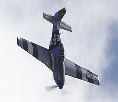 Mustang (Bernie Condon) Tags: plane vintage flying display aircraft aviation na airshow planes preserved mustang warbird p51 manston usaaf