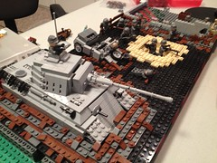 The battle for Berlin MOC (WIP) #1 (legobro77) Tags: berlin for lego battle ww2 panther 2014 brickarms brickmania brickfiesta
