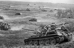 """T-34 tanks • <a style=""""font-size:0.8em;"""" href=""""http://www.flickr.com/photos/81723459@N04/9192003019/"""" target=""""_blank"""">View on Flickr</a>"""