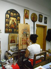 Orthodox Icons workshop (jecadim) Tags: art icon greece workshop orthodox meteora orthodoxchurch orthodoxchristianity neipori