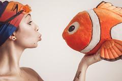 loving nemo (mickiky) Tags: summer portrait orange fish selfportrait me myself estate nemo disney pixar autoritratto remotecontrol ritratto autoscatto arancione pesce
