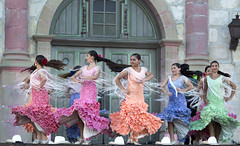 Twirling Ring (dcnelson1898) Tags: california festival santabarbara dance fiesta dancers spanish flamenco oldspanishdays 2013