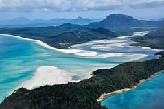 A Breathtaking Mosaic (fsheye (Emily Yu)) Tags: beach hill australia queensland inlet greatbarrierreef whitehaven