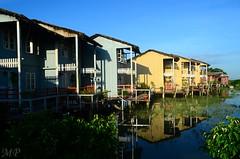 Padma Resort (Ami VONDo) Tags: blue house architecture river nikon s5100 resort rest bangladesh beside padma mehrab saifuzzaman munshigonge