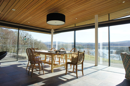 House at Loch Awe by McInnes Gardner Architects