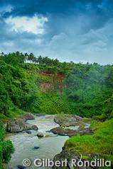Duminding Cliffs (Gilbert Rondilla) Tags: rural river nikon cloudy dam philippines falls cliffs rainy filipino laguna province pinoy hydroelectric majayjay nikkorlens floodgates nikond90 gilbertrondilla gilbertrondillaphotography botocan duminding