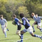 """<b>Luther Men Rugby vs Alumni</b><br/> Luther Rugby vs Alumni game at the homecoming 2013 - Photo taken on Saturday, October 5 by Maria da Silva<a href=""""http://farm3.static.flickr.com/2863/10104300723_ef2cd7c28a_o.jpg"""" title=""""High res"""">∝</a>"""