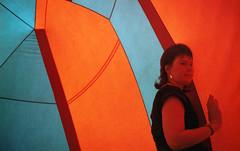 Mandarah 2, inflatable sculpture, Edinburgh Festival Fringe 1983 (Fraser P) Tags: sculpture colour art festival scotland edinburgh meadows fringe inflatable installation environment 1983 luminaria architectsofair alanparkinson rogerhutchinson mandarah2 leicesterinterplay
