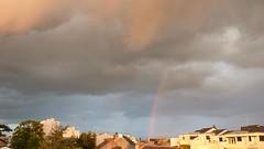 """""""le ciel de Nantes rend mon coeur chagrin...."""" (surlesailesdumonde absente) Tags: ciel nantes arcenciel"""