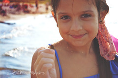(Krista Cordova Photography) Tags: lake beach water girl kids children lakemichigan seashell littlegirl cutekids