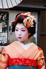 "Geisha-Look_Japan (""REGARD NOMADE"") Tags: color japan digital pentax geisha numrique japon couleur k10d pentaxk10d"