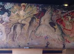 Toulouse-Lautrec no Moulin Rouge-Paris (leaovermelho) Tags: france luz moulin rouge europa lumiere cancan ville ris
