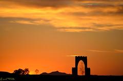 Ilunabarra (Erre Taele) Tags: africa sunset sky atardecer desert cielo desierto silueta kasbah zerua ilunabarra errachidia basamortua