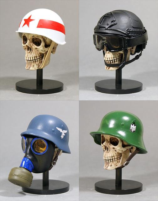 1/6 鋼盔系列第二彈!TEPPACHI IInd 1/6 戦闘用ヘルメットコレクション