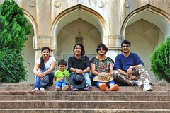 Qutb Shahi Tombs - the family pic (siddharthx) Tags: architecture construction ancient hyderabad tombs golconda mausoleums qutbshahi bhagyanagar 1580ad 1687ad