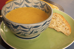 Spiced carrot soup that tastes as though it was made by a chef (Ben Mitchell2009) Tags: recipe soup spices carrot cardamom