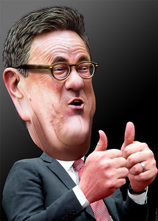Joe Scarborough - Caricature