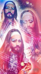 It's Called: Forgiveness (Henry M. Diaz) Tags: hair poster beard stars drag jesus indigo transgender scifi trans dragqueen spiritual cinematic starchild beardedlady forgiveness forgive starseed lanadelrey iphone5c emapthetic beardedladyladychamaka