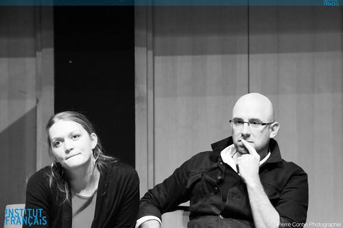 Nadia Berg et Gérald Holubowicz