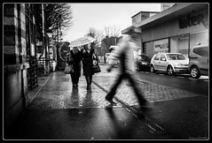 Project Day 361 (Maestr!0_0!) Tags: street urban white black rain project noir day pluie jour rainy 365 rue blanc urbain projet pluvieux 2013