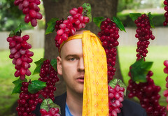 [116/365] Fuck You, Grapes (Handy Andy Pandy) Tags: summer vacation portrait selfportrait man guy art smile hat digital photomanipulation photoshop self project photography artwork flickr pin australia melbourne manipulation bowl dude bowling domo tenpin fedora 365 conceptual fella wacom facebook selfie tenpinbowling cs6 project365 twitter 2013 365project phlearn handyandypandy