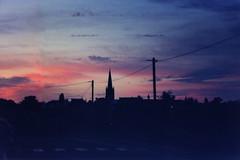 Carnac001 (Morgause666) Tags: sunset france film analog brittany tramonto pentax dusk bretagne francia morbihan carnac analogic bretagna pellicola pentaxp30t karnag bassebretagne breizhizel