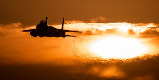 Sunset at Lakenheath