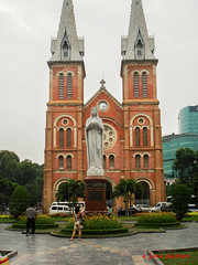 Notre Dame Cathedral (mvcjr) Tags: church southeastasia cathedral vietnam catholicchurch saigon asean hochiminh notredamecathedral frenchstructure