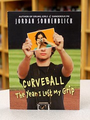 Curveball:  The Year I Lost My Grip (Vernon Barford School Library) Tags: camera new school fiction sports sport lost photography reading book athletic high photographer baseball pennsylvania library libraries year grandfather reads books grandpa read paperback jordan cover photograph cameras grandparents junior pitch novel covers bookcover schools middle athlete grip youngadult vernon pitcher ya recent disease curveball pitching bookcovers grandparent paperbacks novels fictional senility youngadultfiction alzheimer alzheimersdisease senile barford softcover i sonnenblick vernonbarford softcovers 9780545320702