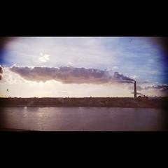#saintpetersburg #clouds #industrial #architecture #sun #sky #river #neva