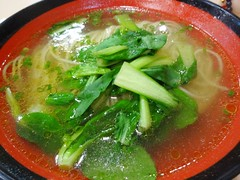 Chicken Noodle @Taihuangji Restaurant, Shanghai (Phreddie) Tags: china people food square lunch soup restaurant shanghai chinese eat ramen noodle 140318 taihuangji
